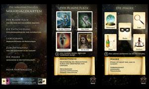 Wahrsagekarten App