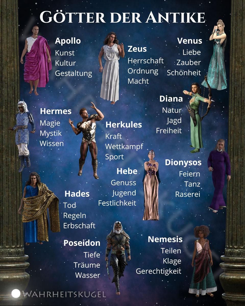 Götter der Antike