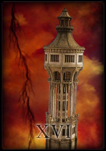 Tarotkarte - Turm