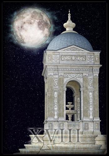 Tarotkarte - Mond