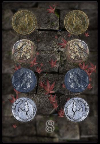 Acht der Münzen