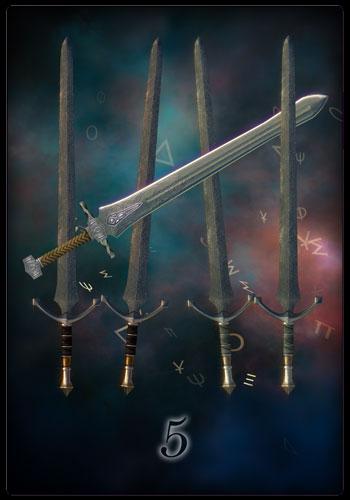 Fünf der Schwerter