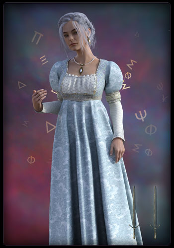 Tarotkarte - Königin der Schwerter