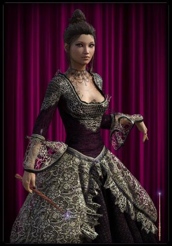 Prinzessin der Stäbe