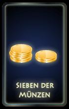 Sieben der Münzen