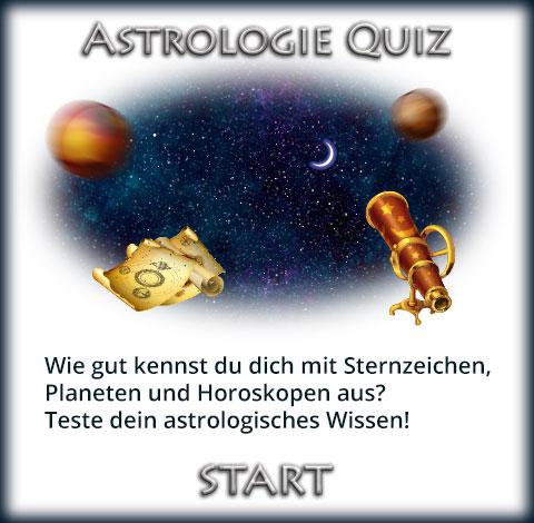 Astrologie Quiz Titel