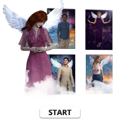 Engelkarten Liebesglück Titel