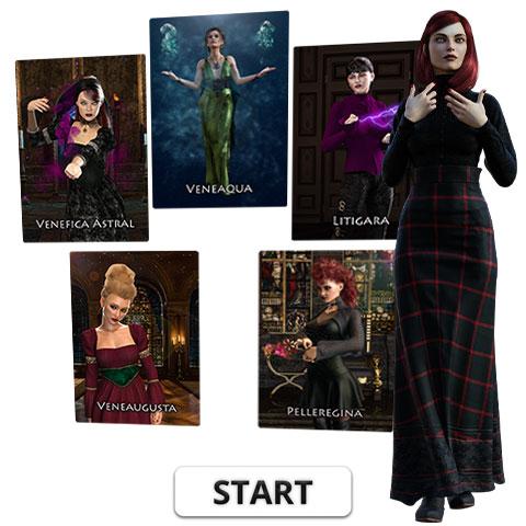Hexenkarten Titel