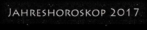 Jahreshoroskop 2017 - Titel
