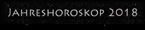 Jahreshoroskop 2018 - Titel