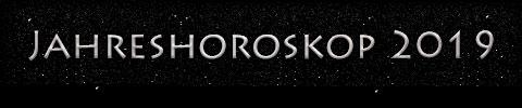 Jahreshoroskop 2019 - Titel