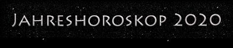 Jahreshoroskop 2020 - Titel