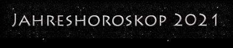 Jahreshoroskop 2021 - Titel